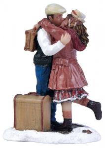 EDELMAN Statuina Bacio D'Addio Natale Presepe - Personaggi E Animali
