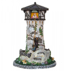EDELMAN Torre Di Raperonzolo A Batteria Natale Presepe - Acc. Con Movimento E/O