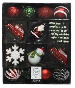 KAEMINGK Confezione Palline Di Natale Assortite Natale Alberi - Sfere E Palline