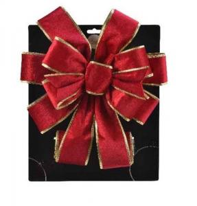KAEMINGK Fiocco Da Albero In Velluto Rosso Natale Alberi - Accessori