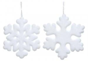KAEMINGK Fiocchi Di Neve Morbidi 2Ass Natale Decorazioni E Oggettistica