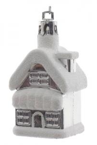 KAEMINGK Decorazione Casa Argento Con Appendino Natale Decorazioni