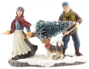 EDELMAN Statuina Trasporto Albero Natale Presepe - Personaggi E Animali