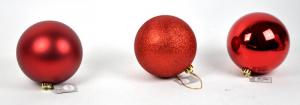 EDELMAN Pallina Piccola Colore Rosso 3Ass Natale Alberi - Sfere E Palline