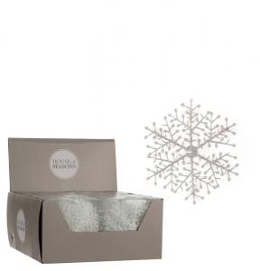 EDELMAN Fiocco Di Neve Bianco Natale Decorazioni E Oggettistica