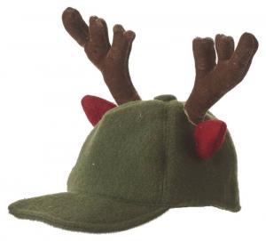 EDELMAN Cappello Con Corna Renna Verde Babbo Natale - Accessori E Vestiti