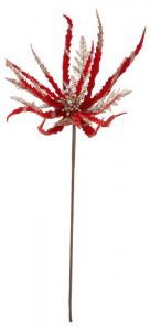 EDELMAN Ramo Con Fiore Rosso Natale Decorazioni E Oggettistica