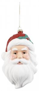 EDELMAN Testa Di Babbo Natale Da Appendere Natale Decorazioni E Oggettistica