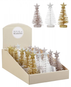 EDELMAN Alberelli Colori Assortiti Natale Decorazioni E Oggettistica