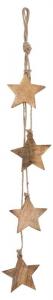 EDELMAN Decorazione Da Appendere Con Stelle Oro Natale Decorazioni
