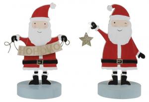 EDELMAN Decorazione Babbo Natale 2Ass Natale Babbo Natale