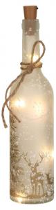EDELMAN Bottiglia Con Led A Batteria Natale Luci E Decorazioni Luminose