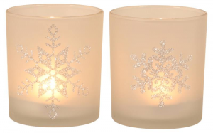 EDELMAN Portacandele Tealight Bianco 2Ass Natale Candele E Incensi