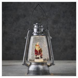 EDELMAN Lanterna A Batteria Con Scena Natalizia Natale Decorazioni