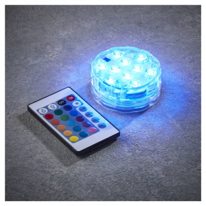 EDELMAN Tealight Immergibile Con Led A Batteria Natale Luci E Decorazioni