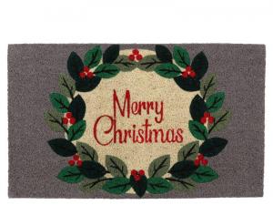 EDELMAN Tappeto Con Decorazione Merry Christmas Natale Decorazioni