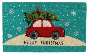 EDELMAN Tappeto Verde Con Decorazione Natalizia Natale Decorazioni