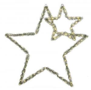KAEMINGK Stella Pino Con Luci A Batteria Natale Luci E Decorazioni Luminose