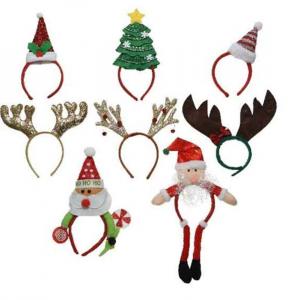 KAEMINGK Cerchietto Natalizio 9Ass Babbo Natale - Accessori E Vestiti