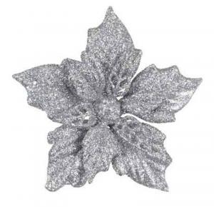 KAEMINGK Stella Di Natale Con Clip Colore Argento Natale Decorazioni