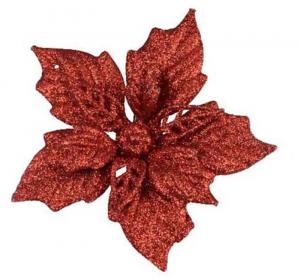 KAEMINGK Stella Di Natale Con Clip Colore Rosso Natale Decorazioni