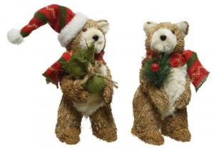KAEMINGK Orsetto Di Paglia 2Ass Natale Decorazioni E Oggettistica