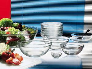 DURALEX Set 6 Coppe vetro duralex impilabili lys cm 23 Ciotola da cucina