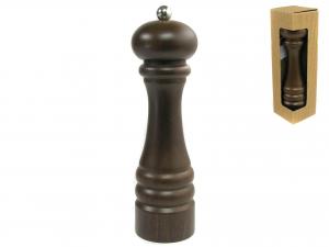 BISETTI Macinasale legno scuro cm22.5 utensile da cucina
