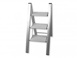 COLOMBO Sgabello Alluminio Leonardo 3 Gradini Hobby & Brico Arredo Giardino