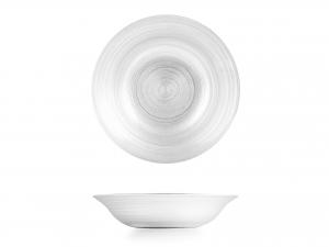 H&H Piatto Vetro Circle Fondo 22,5 Cm accessorio per la tavola