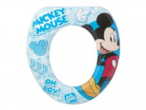LULABI Riduttore Wc Soft Disney Mickey Plastica e Pvc Articoli per bambini