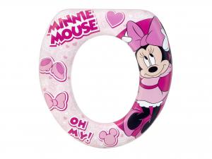 LULABI Riduttore Wc Soft Disney Minnie Plastica e Pvc Articoli per bambini