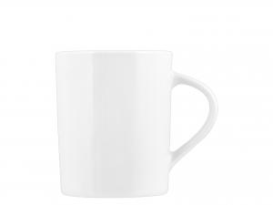 ROYAL NORFOLK Set 6 Mug in Porcellana Bianca Cilindrica 330 cc