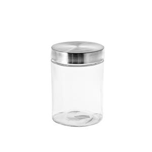 HOME PROFESSIONAL Set 4 Contenitore vetro tappo inox cc1000 contenitore per cibo
