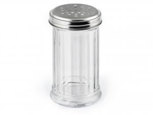 H&H Set 9 Spargitutto Vetro/Acciaio Inox Trasparente articolo per la cucina