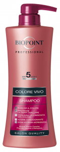 BIOPOINT Shampoo Colore Vivo 400 ml Professionale