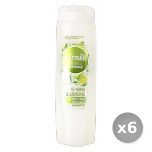 Set 6 SUNSILK Shampoo Purificante 250 ml Prodotti per Capelli