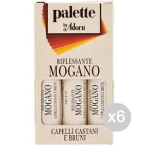 Set 6 ADORN Fiale X3 Mogano Palette Cura E Trattamento Dei Capelli