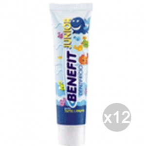 Set 12 BENEFIT Dentifricio Junior Ml 50 Bimbi Igiene E Cura Dei Denti