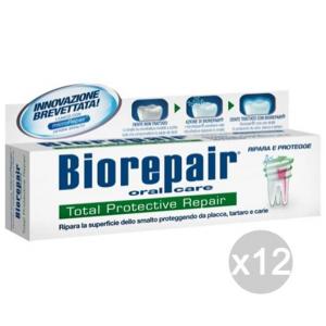 Set 12 BIOREPAIR Dentifricio 75 Total Protective Repair Igiene E Cura Dei Denti