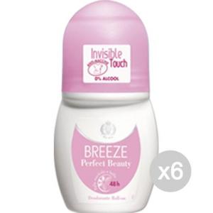 Set 6 BREEZE Deodorante Roll On Perfect Beauty Invisibile Cura E Igiene Del Corpo