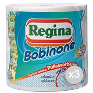 Set 3 REGINA Bobinone 500 Maxi Strappi Nuova Tra Accessorio Per La Cucina E La Tavola