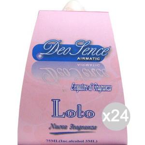 Set 24 Deodorante Sence Liquido 1625 Loto Assorbiodore Profumazione Della Casa