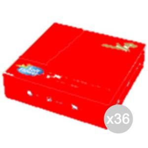 Set 36 MATIS Tovaglioli 33X33 Rosso 30 2Vel Colorati Cucina E La Tavola