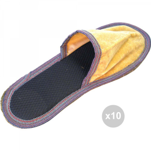 Set 10 Feltro chiuse economiche 44/45 pantofole da casa
