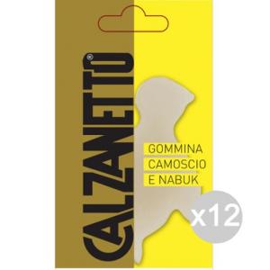 Set 12 CALZANETTO Gommina Neostik X Camoscio Per Calzature E Scarpe
