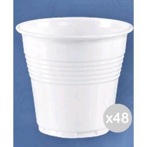 Set 48 ARISTEA 100 Bicchiere 80 Cc Bianchi 208436 Accessorio Per La Cucina E La Tavola