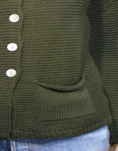 Maglione donna Akè cardigan