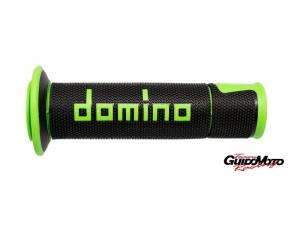 A45041C4440B7 CP MANOPOLE DOMINO NERO/VERDE  RACING