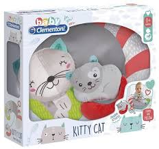 Primo Cuscino Kitty Cat dai 0' mesi Clementoni